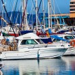 Yachts and boats anchored — Stock Photo #39711323