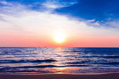Sea sunset  — Stock Photo