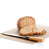 Bread isolated on white background  — Stock Photo