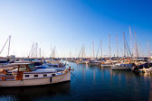 Boats at rest in the marina  — Stock Photo
