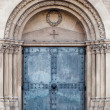 Church door. old metal Door — Stock Photo