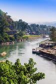 Landscape at the River Kwai, Kanchanaburi — Photo