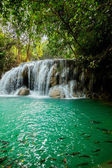Waterfall in Kanjanaburi Thailand  — Stockfoto