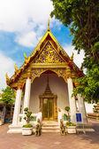 Wat Phra Kaeo. Bangkok, Thailand.  — Stock Photo