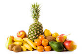 Set of different fresh fruits — Stock Photo