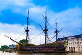 Dutch sailing ship — Stock Photo