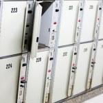Lockers cabinets — Stock Photo #46463449