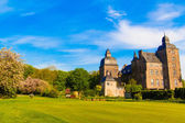 Summer view of castle — Stock Photo