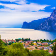 Mountain lake Lago di Garda — Stock Photo #48863495