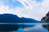 Mountain lake Lago di Garda — Stock Photo