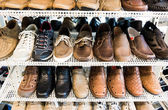 Shoes in the Shop — Stock Photo