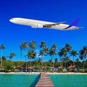 Passenger Airliner — Stock Photo