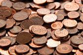 Coins background.  euro coins.  cent coins. euro cents.  — Stock Photo