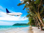 Tropical vacation concept — Stock Photo