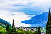Mountain lake Lago di Garda — Stock Photo
