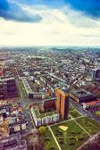 View from television tower Rheinturm — Stock Photo