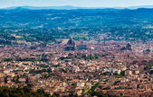 Panorama of Florence old city — Stock Photo