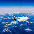Airplane in the sky — Stock Photo #50330723