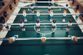 Soccer table game — Stock Photo
