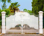 White Gates — Stock Photo