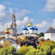 "Monastery panorama ""Troice-Sergieva Lavra"" — Stock Photo"
