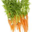 Stock Photo: Rural ecological ugly carrot