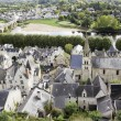 Stock Photo: Old French country town