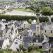 oude Franse land stad — Stockfoto