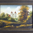 Stock Photo: Catholic church oil painting