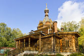 Old wooden Russian Orthodox church — Stock Photo