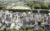 Old French country town — Stock Photo