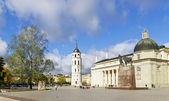 Autumn in Vilnius city — Stock Photo