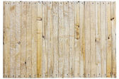 Not painted wooden fence — Stock Photo