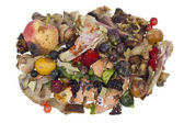 Rotten food waste isolated concept — Stock Photo
