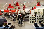 Negozio di scarpe di Natale — Foto Stock