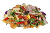 Heap of rotten food — Stock Photo