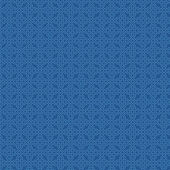 Retro seamless pattern. Blue background abstract. Vector. — Stock Vector