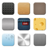 Icon vector pack for user interface application. Patterns set. — Stock Vector