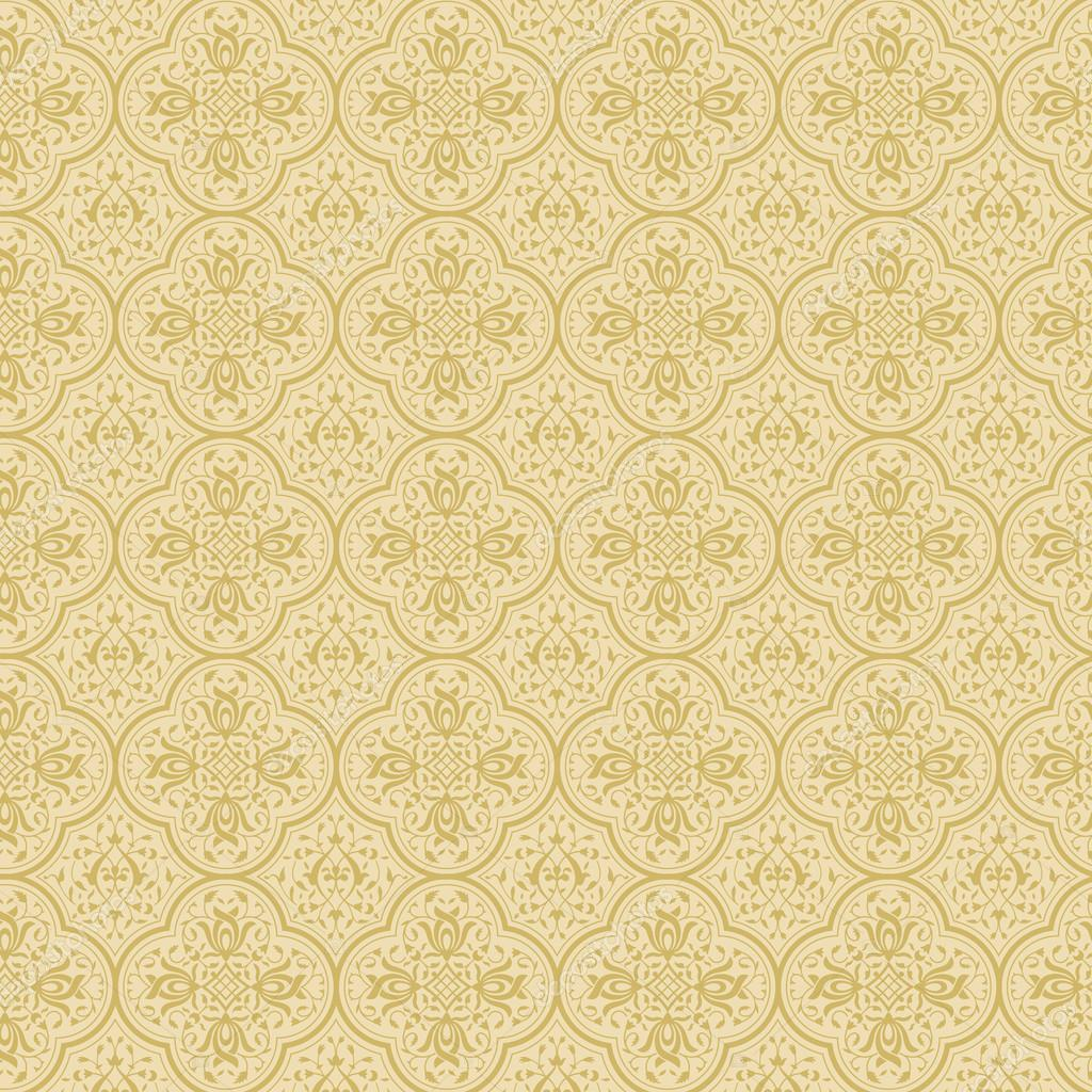 Vintage Background Abstract. Retro Floral Pattern. Vector