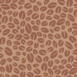 Coffee seamless pattern. Vector background abstract. — Vektorgrafik