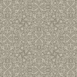 Vintage Floral arabic seamless pattern. Arabian Retro background abstract. High detail Vector.  — Stock Vector
