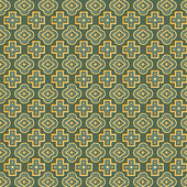 Seamless pattern retro vintage abstract. Vector background. — Stock Vector