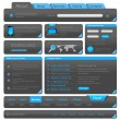 Web designers toolkit. Design elements collection. Vector. Editable. — Stock Vector