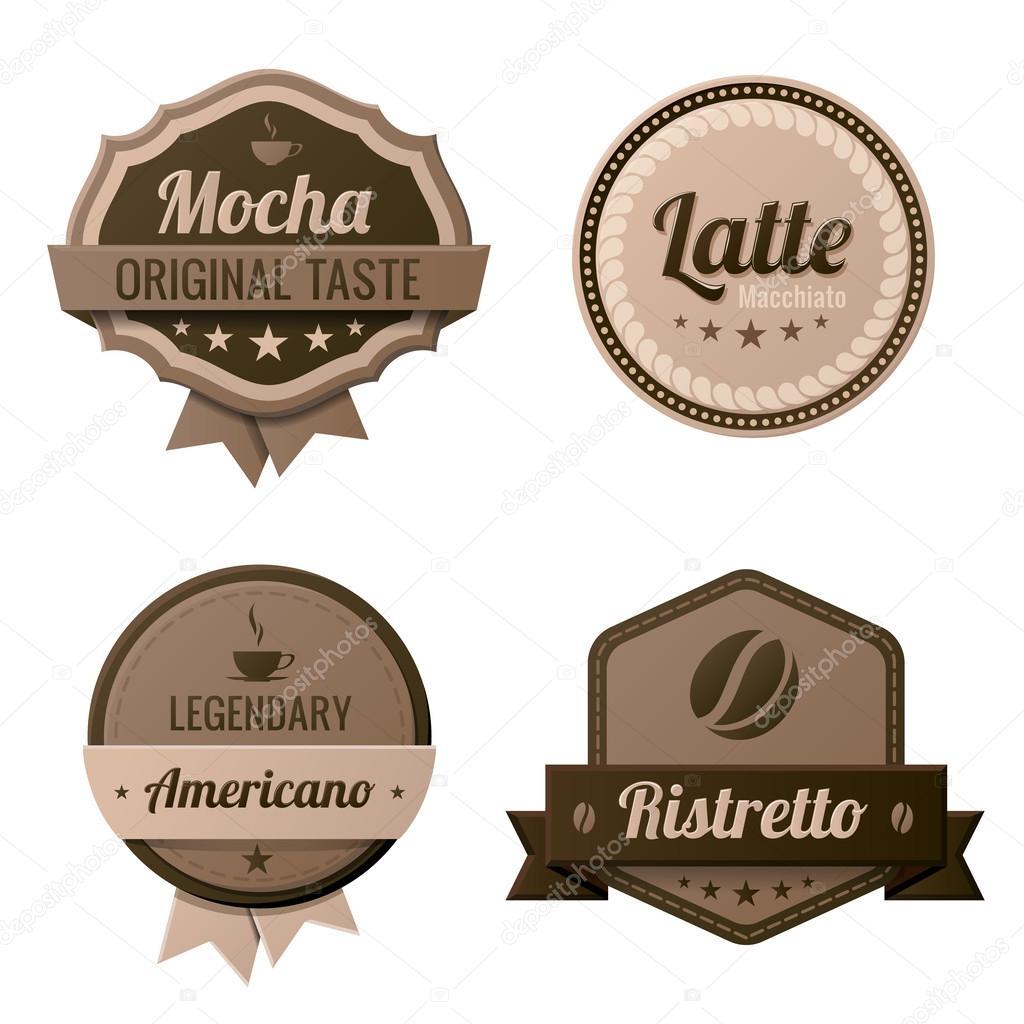 Vintage Coffee Logo Coffee Vintage Labels Logo