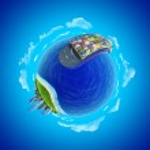Mini planet concept. — Stock Photo