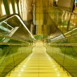 Escalator pathway — Stock Photo