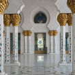 Mosque interior. — Stock Photo