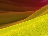 Backgrounds collection - Yellow crust and purple skies — Stock Photo