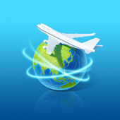 World airlines concept. — Stock Photo