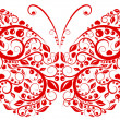 Butterfly pattern — Vector de stock #31421949